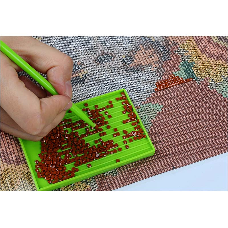 King Tiger Cross Stitch 3D DIY Diamond mosaic animal mother and baby painting rhinestones resin almaznaya beadwork hobbi crafts