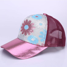 XCZJ Breathable Baseball Cap Cotton Embroidery Women Summer Mesh Hats Sun Beach Hat Casual Adjustable Unisex Snapback H063