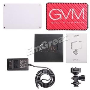 Image 5 - Портативный карманный светодиодный видеосветильник GVM, RGB, полноцветный, CRI 95 +, двухцветный, 2000 5600K, встроенный аккумулятор, для Sony Canon