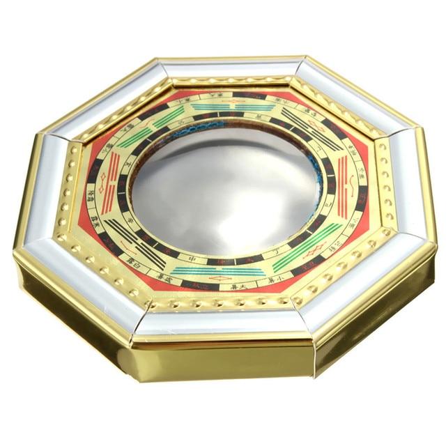 Spiegel Feng Shui klassische chinesische feng shui convex bagua spiegel holz goldfolie