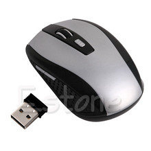 2017 Mouse Portable 2.4Ghz Wireless Optical Gaming Mouse Gamer Mice For PC Laptop Computer Pro Gamer Minimum Price D14