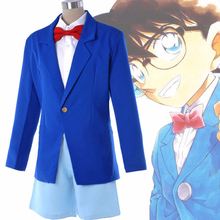 Anime Case Closed Cosplay Costumes Conan Edogawa Costume School Uniform Halloween Party Detective