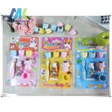 Special Cute Tooth+Cup+Toothbrush+Toothpaste mini  Rubber Eraser Kid Toy stationery school supplies dental clinic Gift
