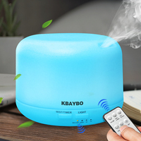 Remote Control 300ML Ultrasonic Air Aroma Humidifier With 7 Color Lights Electric Aromatherapy Essential Oil Aroma