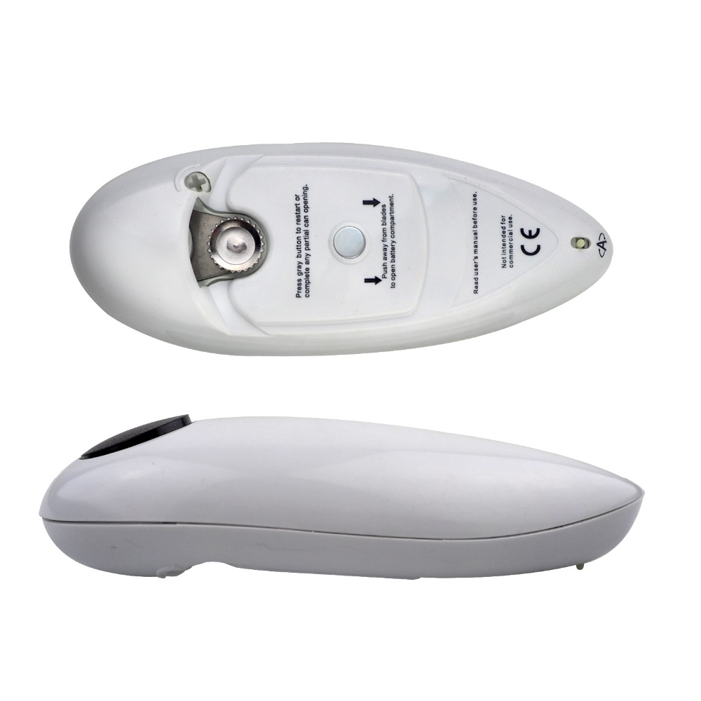 Automatic Electric One Touch Can Tin Bottle Opener No Hands Battery Operated