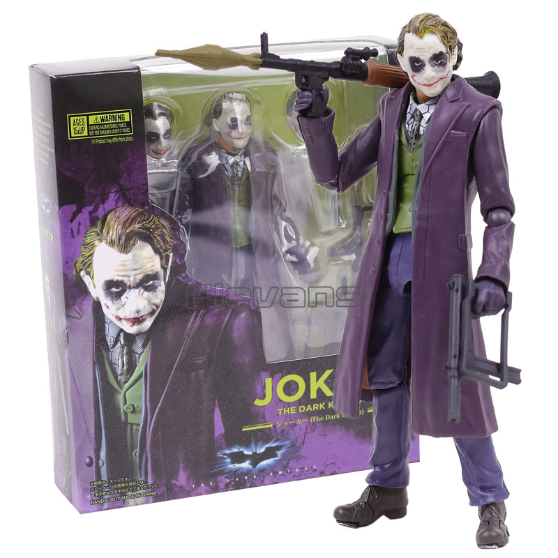 Tamashii Nations S.H. Figuarts SHF Joker Batman The Dark Night PVC Action Figure Collectible Model Toy neca the joker action figure batman pvc figure collectible toy 30cm