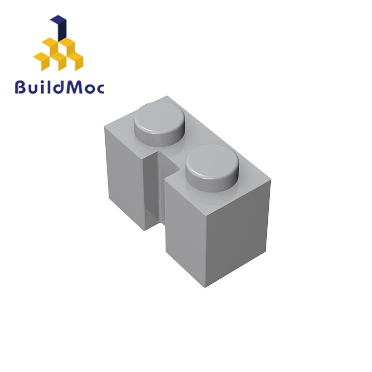 BuildMOC Compatible Assembles Particles 4216 1x2 For Building Blocks Parts DIY LOGO Educational Creative Gift Toys