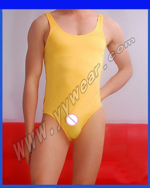 Male Underwear Shapers Men's Leotard Bodysuits Tight Suits Button Men New