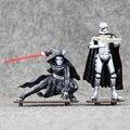 2pcs/lot Star Wars Figure Toys Kylo Ren Ben Solo Stormtrooper Cool Model 7-11cm Doll for Kids
