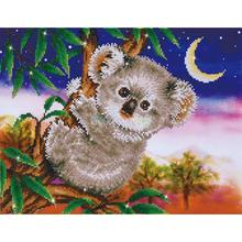 Aliexpress Value Set Sale 5pcs/lot Diy Full Round Resin Kids Diamond Painting Cross Stitch Embroidery A Hobby Mosaic Kit Koala