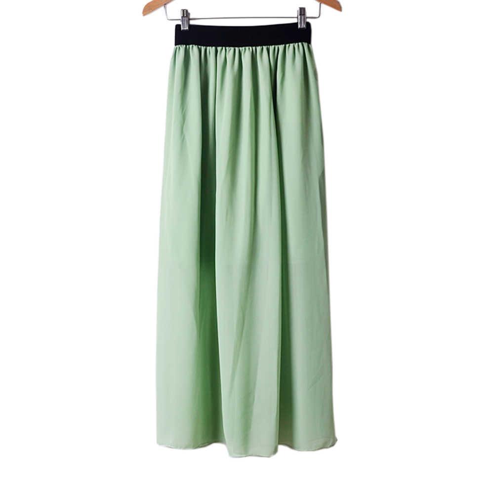 185fae28aa ... 2019 nuevo estilo moda mujer caliente amor Multi-capa de gasa falda  Retro de cintura ...