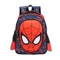 1-2 grado 3D nuevo niños de primaria mochilas escolares para niños mochilas Boy personaje Spiderman libro taleguilla de los niños Mochila Mochila