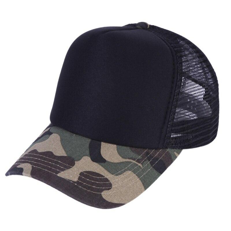 2018 Snow Camo   Baseball     Cap   Women Men Mesh Tactical   Cap   Camouflage Snapback Hat For Men High Quality Letter Printing Hat Trucker