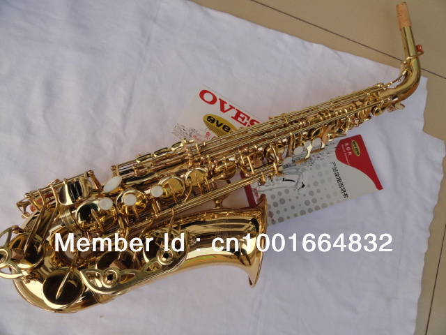 Wholesale Oves High quality alto saxophone yanagisawa type surface strengthening gold plated instruments