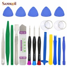 20 in 1 Mobile Phone Repair Tools Kit Spudger Pry Opening Tool Screwdriver Set for iPhone iPad Samsung Cell Phone Hand Tools Set цена 2017