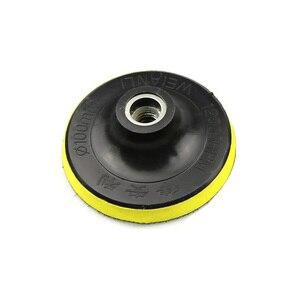 """Image 4 - 5 ชิ้น + M14 4 """"Premium Qulity เพชรรอบยืดหยุ่นแผ่นขัดแห้งบดแผ่นสำหรับหินอ่อนแก้วบด"""