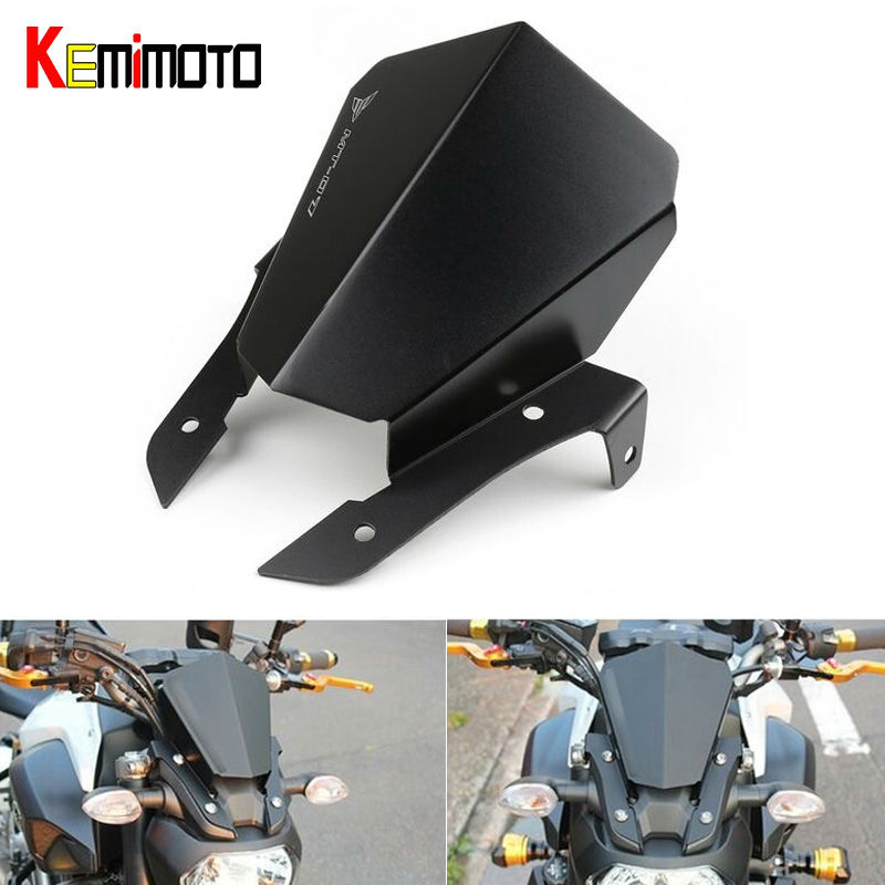 For Yamaha MT 07 MT07 MT-07 Motorbike Motorcycle Windshield Windscreen Wind screen High Quality Aluminum yomt motorcycle motorbike windshield smoke race screen for yamaha tmax530 2012 2014 2013 12 13 14 windscreen
