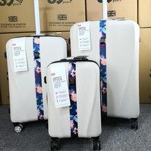 Travel tale 20 дюймов 24 дюйма 28 дюймов ручной Спиннер koffers чемоданы на колесах с ножными креплениями на колёсиках наборы для ухода за кожей