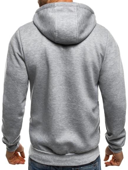 Zogaa Men 39 s Hoodies 2019 Fashion Brand Solid Color Zipper Jacket Long Sleeve Sweatshirt Hip Hop Casual Sweatshirt Men 39 s Slim Fit in Hoodies amp Sweatshirts from Men 39 s Clothing