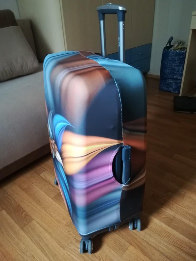 3D Flower Travel Bagage Skyddskåpa för 18-30 tums Trolleyväska - Resetillbehör - Foto 2