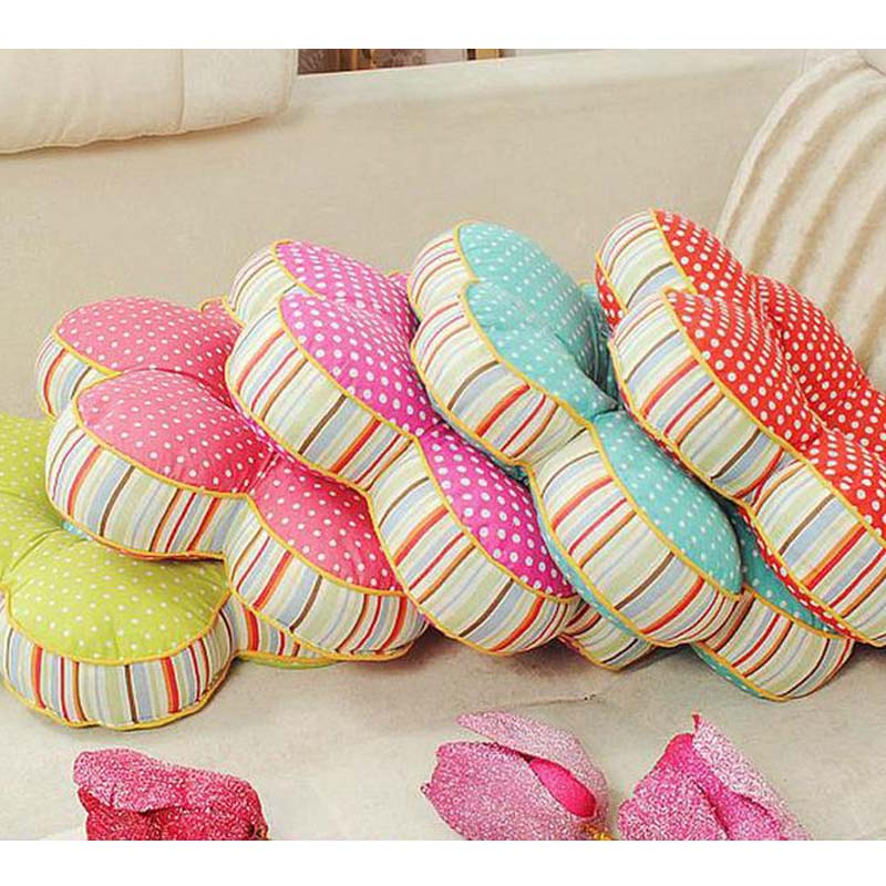 Wonderful HearTogether Lifelike Flower Shaped Pillow Multipurpose Car Office Home Seat  Chair Back Cushion Seat Cushion Nap Hold Pillow In Cushion From Home U0026  Garden ...
