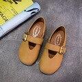 Горячий стиль дети shoes girls shoes удобный кожаный shoes girls dress shoes kids