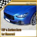 Car-styling For Maserati Ghibli Novitec Style Carbon Fiber Body Kit (Front Bumper Lip , Rear Spoiler , Side Skirt)