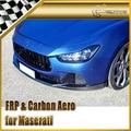 Car-styling For Maserati Ghibli Novitec Style Carbon Fiber Body Kit (Front Bumper Lip , Rear Spoiler , Side Skirt)