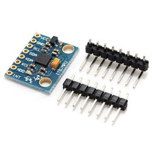 2017 Hot New Arrival 1PC GY-521 3.3V-5V 6DOF MPU-6050 3 Axis Accelerometer Sensor Module with Gyroscope For Arduino For RC