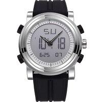 SINOBI Men Sport Watch LED Digital Display Mens Watch Male Chronograph Silicone Band Casual Wristwatch Gents