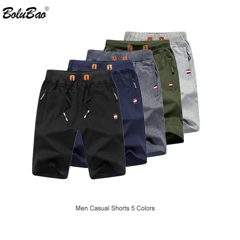 BOLUBAO Brand Men Casual Shorts Summer Men's Fashion Solid Color Breathable Shorts Male Bermuda Shorts Clothing