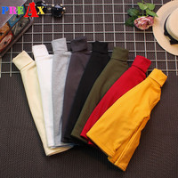 Hot Sale Kids Winter Autumn Clothes Girls Long Sleeve Bottoming T Shirts For Children Boys Basic