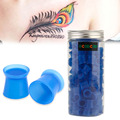 New Style Tattoo Ink Cups 100pcs/Box Blue Color Silicone Tattoo Ink Pigment Cap Cups Top Quality For Tattoo Supply