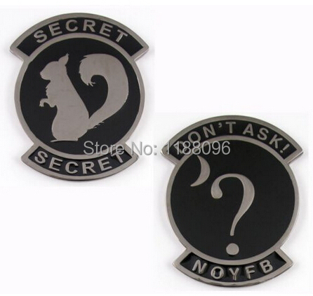 US $500 0 |low price Air Force Secret Squirrel Covert Ops Challenge Coin  Nickel with Enamel cheap custom made enamel coins -in Non-currency Coins  from