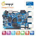 Orange pi mais 2 h3 quad core 1.6 ghz 2 gb ram 4 k placa de desenvolvimento open-source para além raspberry pi 2