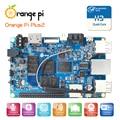 Orange pi plus 2 h3 quad core 1.6 ghz 2 gb de ram 4 k placa de desarrollo de código abierto más allá de raspberry pi 2