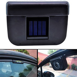Portable Solar Powered Car Window Windshield Auto Air Vent Cooling Fan System Cooler Tool remove odor 10 W ABS plastic styling(China)