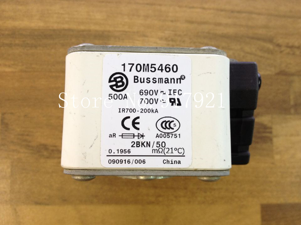 [ZOB] The United States Bussmann 170M5460 500A 690V fuse fuse original authentic the united states