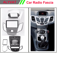 Free Shipping Car CD DVD Radio Mounting Stereo Install Trim Installation 2 DIN Dash Kit For