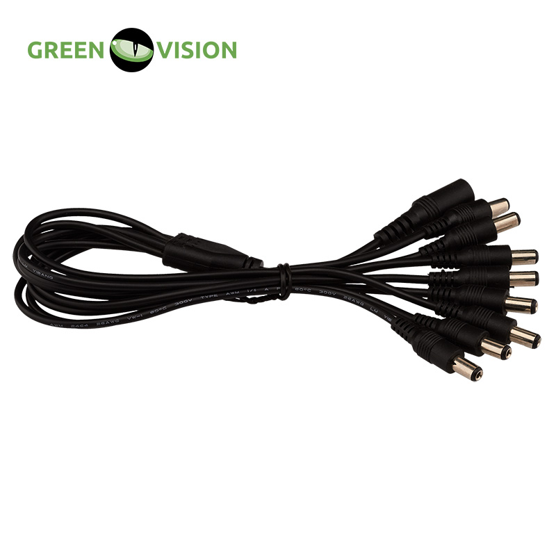 GREEN VISION Cable-divider power supply GV-DCS 1/8 (1 pack = 25pcs=44$) #3590 evenflo room divider gate soft and wide 2 pack