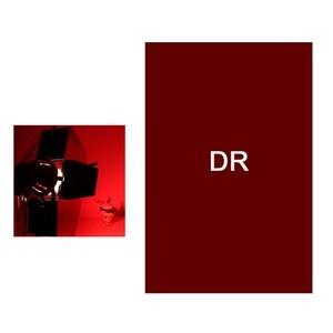 Image 5 - מקצועי 40*50cm 15.75in * 19.69in נייר ג לי צבע מסנן עבור שלב תאורה Redhead אור
