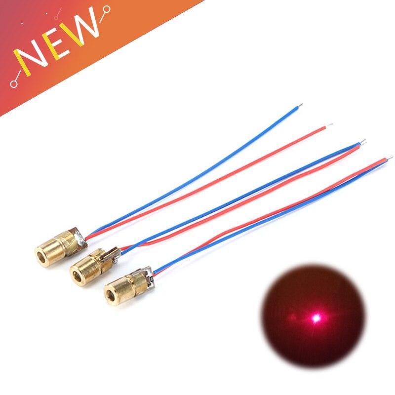 Laser point rouge red dot 5mW 5V cablé