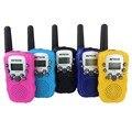 Um par de mini walkie talkie rádio crianças retevis rt-388 0.5 w UHF 446 MHz Freqüência de Rádio Em Dois Sentidos Portátil Presente de Natal DA UE A7027B