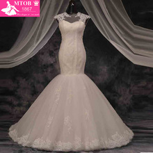 MTOB1867 Real Image Mermaid Wedding Dresses