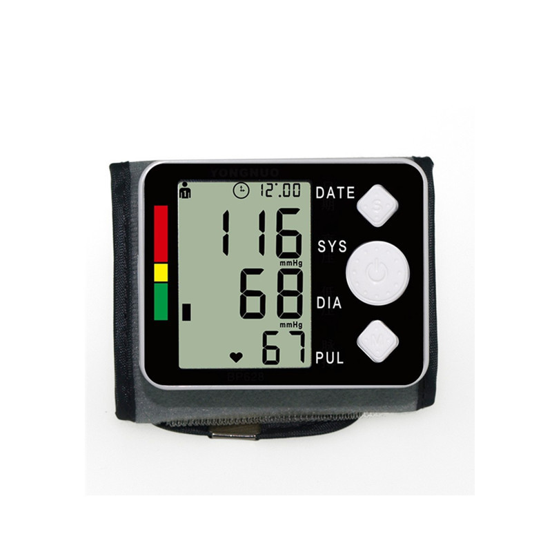 Sale Blood Pressure Wrist Monitor Health Care Automatic Pulse Meter Tonometer Digital Sphygmomanometer Medical Watch LCD Russia