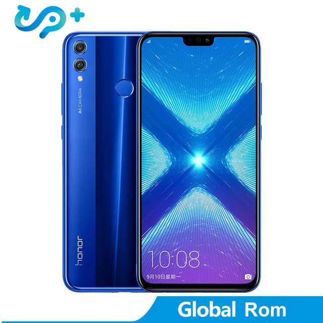 Original Huawei Honor 8X Smartphone 1080P 6.5 inch Screen Global ROM LTE  Android 8.1 3750mAh Battery 20MP Camera 1.5GHz