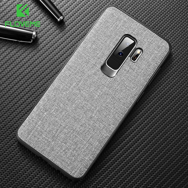 FLOVEME Cloth Texture Case For Samsung S8 S9 Galaxy S9 S8 Plus Luxury TPU Cover For Samsung Note 9 Note 8 S7 S7 Edge Phone Cases
