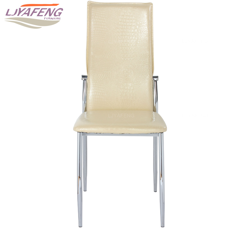9061-10, the Artificial crocodile skin, kitchen chair and iron chair are yellow. According to the bar's kitchen Family furniture 9050a the artificial leather dining chair kitchen chair and iron chair are white according to the bar s kitchen family furn