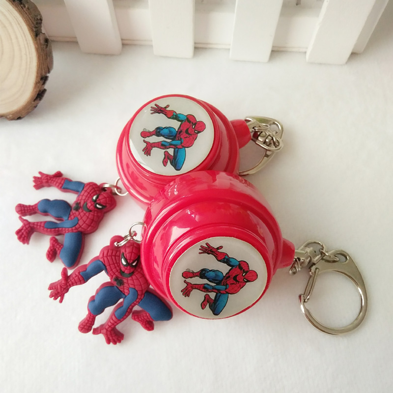 3pcs/pack specialized spiderman alarm self defense alarm women defense цена