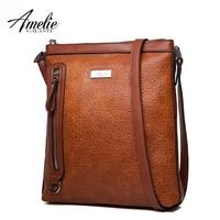 AMELIE GALANTI женская сумка на плечо и сумки через плечо среднего размера высокого качества из искусственной кожи женская Стильная универсальна
